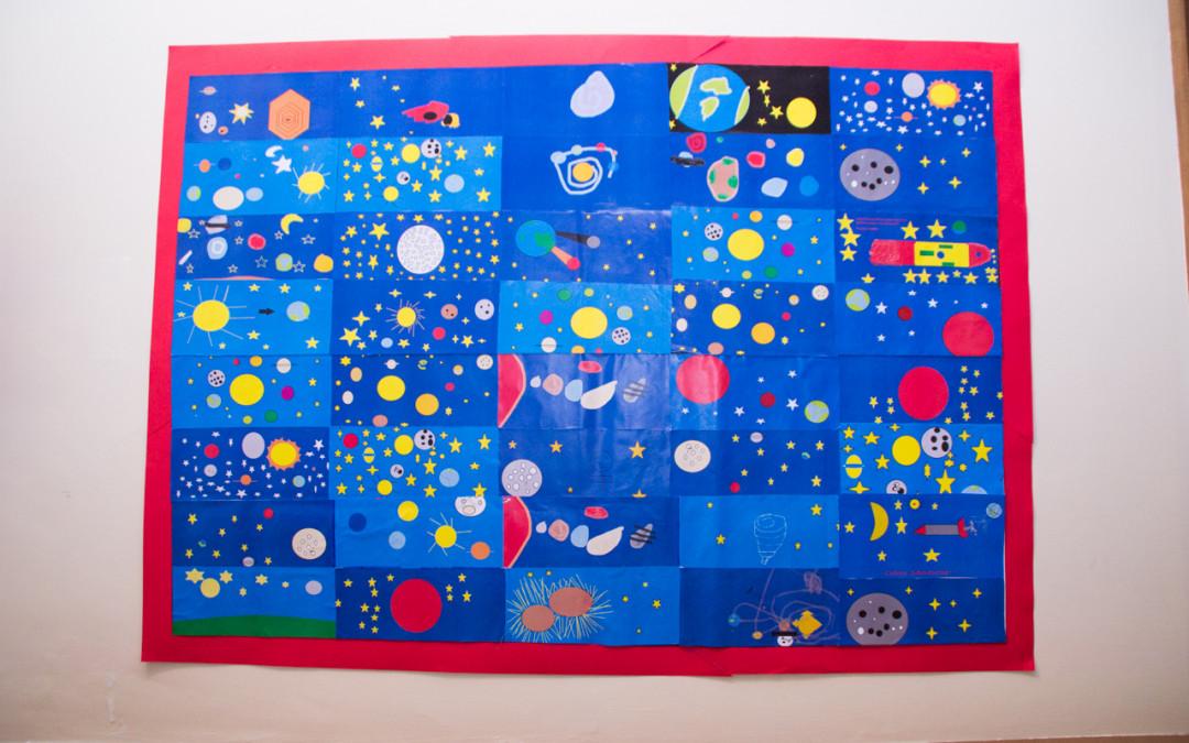 Galassie e pianeti: disegni della Scuola Primaria