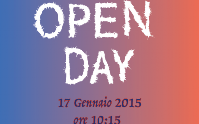 Open Day 17 Gennaio 2015