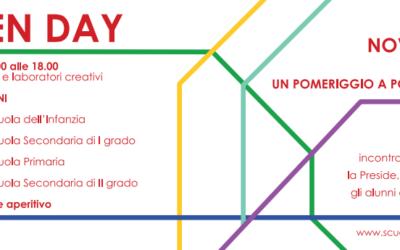 Open Day – Un pomeriggio a porte aperte 12 Novembre 2016