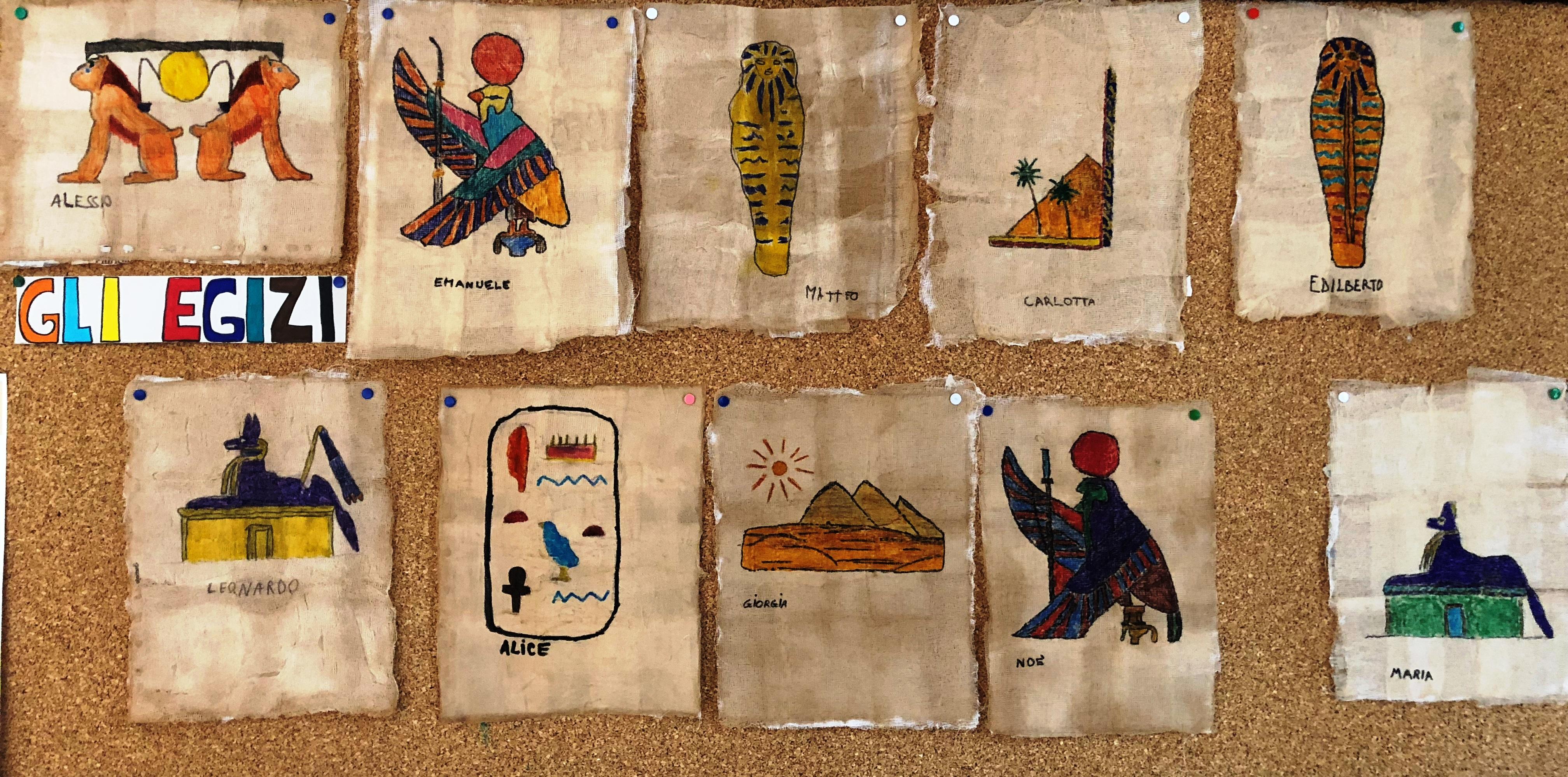 In viaggio con gli Egizi