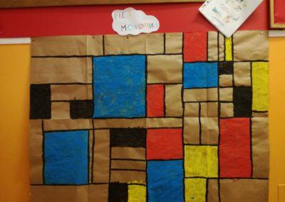 Piet Mondrian - lavoro di gruppo
