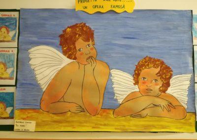 Raffaello - Gli angeli - lavoro di gruppo