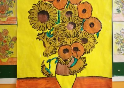 Van Gogh - I girasoli- lavoro di gruppo