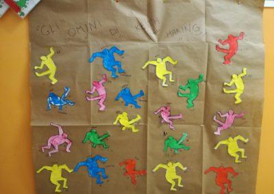 Gli omini di Keith Haring - lavoro di gruppo