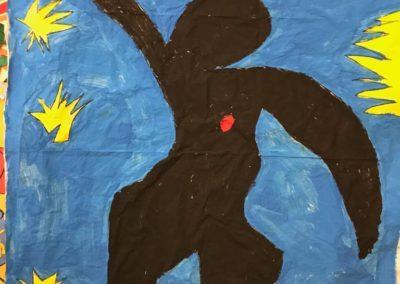 Il volo di Icaro Matisse